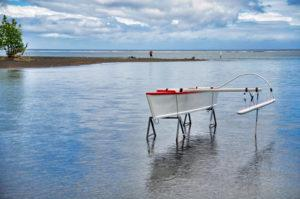 lonely outrigger