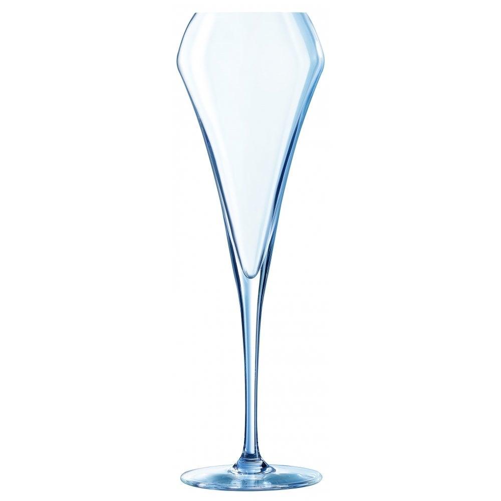 chef sommelier open up effervescent flute premium glassware 20cl 7oz box of 6