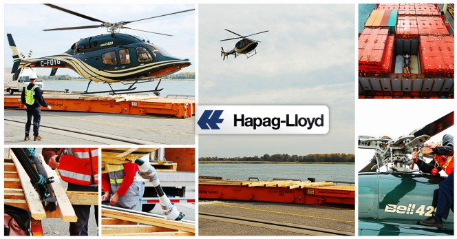 How to Ship a Helicopter on a Hapag-Lloyd Container Vessel