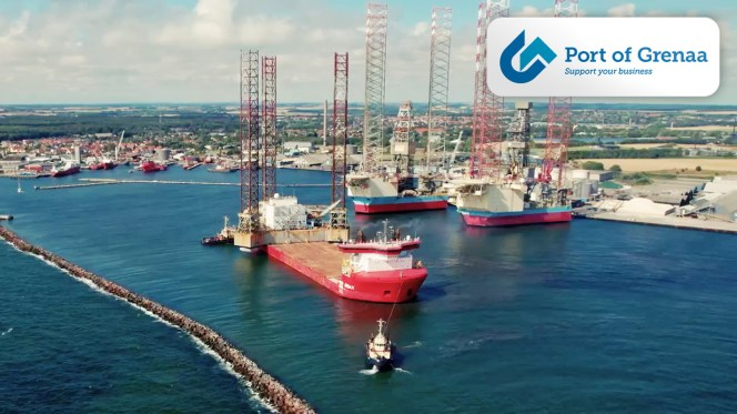 Video - Jack-up Hotel Rig on a Journey from Grenaa Denmark to China