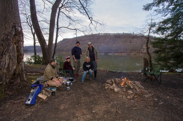 There are several primitive campsites, complete with fire rings.
