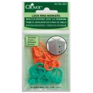 Clover Locking Stitch Markers
