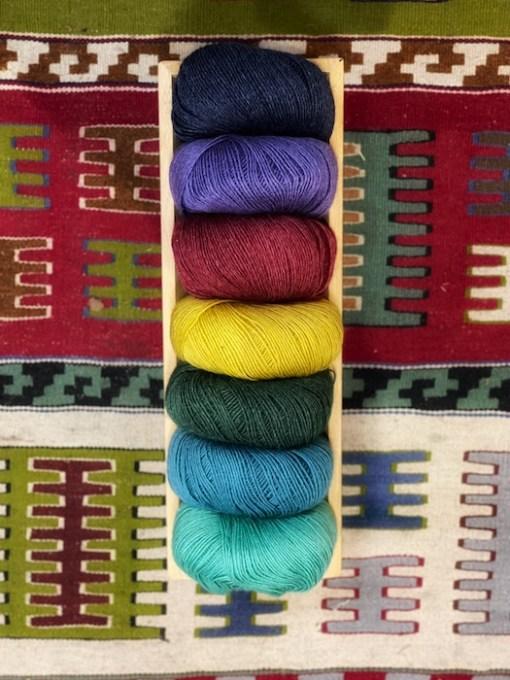 Onion sock yarn