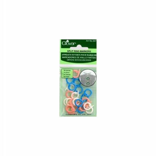 Clover split ring markers