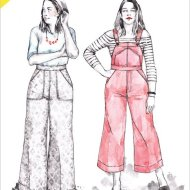 Closet case Jenny_Overalls_Pattern_trousers front
