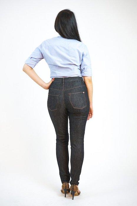 Ginger Jeans Closet case back