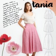 Megan Nielson - Tania Culottes Sewing Pattern