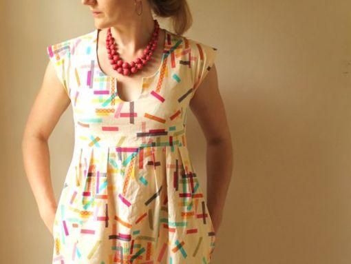 Rae Patterns Washi Dress