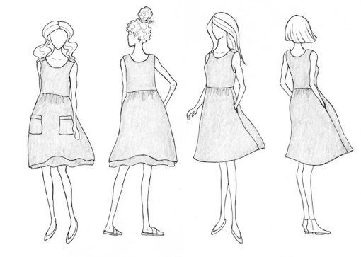 Sew Liberated Metamorphic Dress