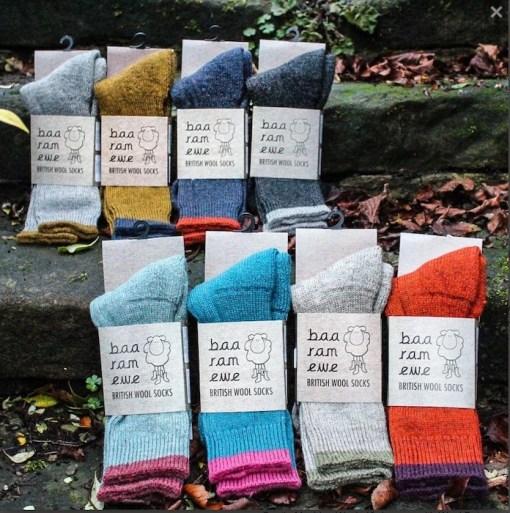 Baa ram ewe socks