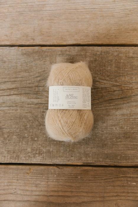 Biches & Bûches silk mohair beige