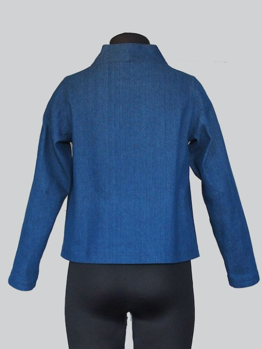 The Assembly Line Elastic Tie Sweater back