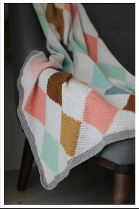 CaMaRose Harlekin blanket