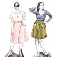 Fiore Skirt Pattern