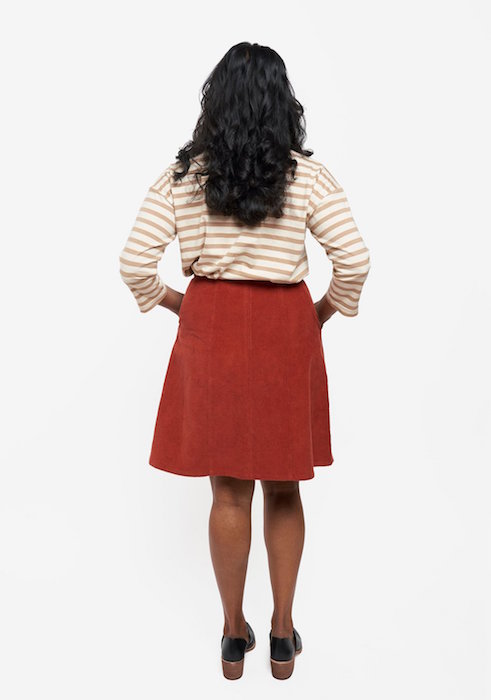 Reed Skirt View A Back