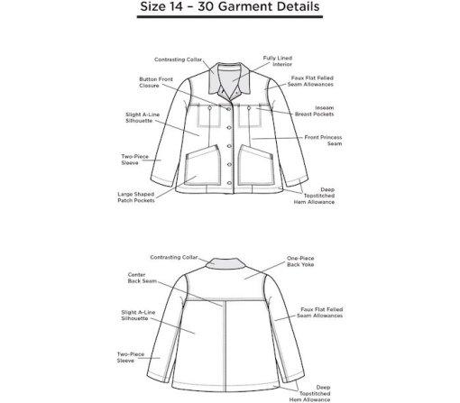 The Thayer Jacket 14-30 Garments