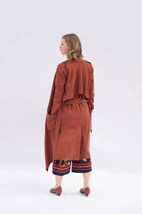 Ulysses Trench Coat Back