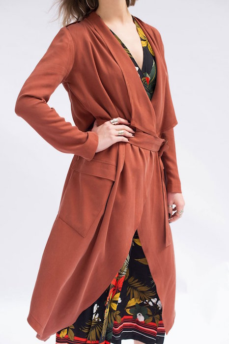 Ulysses Trench Coat Front