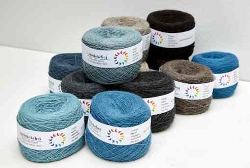 Aurinkokehrä Finnish Laceweight Wool