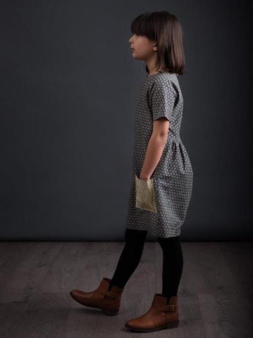 The Avid Seamstress - The Gathered Dress Pattern