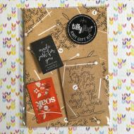 Tilly Flop Designs gift kit kraft