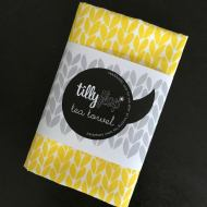 Tilly Flop knit tea towel dish cloth - Oh how I'd rather be knitting