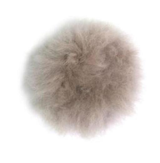 toft alpaca pompom stone