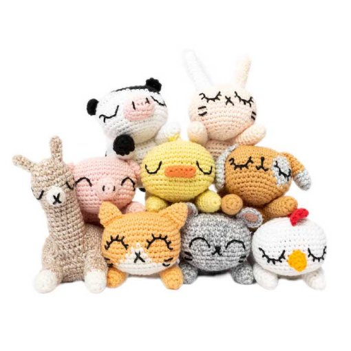 Rico Design - The Lovely World of Ricorumi - Pocket Pals