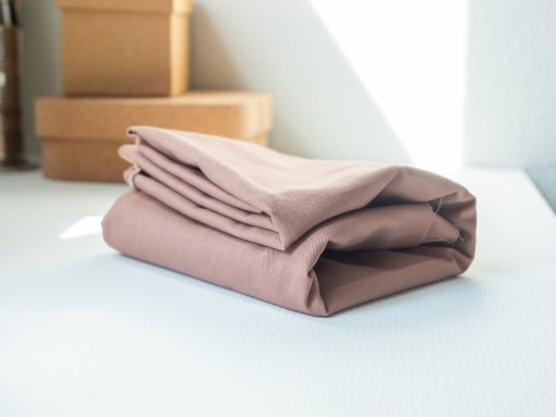 Mind the Maker Washed Cotton Twill - Dusty Rose