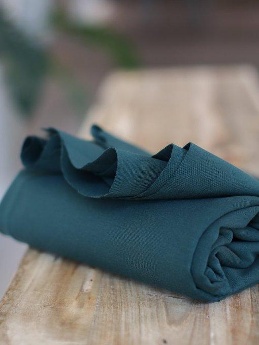 Meet Milk Plain Ponte Knit - Deep Green