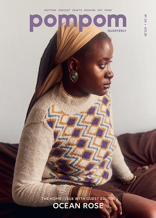 Cover Pom Pom Quarterly Autumn 2020 - Issue 34
