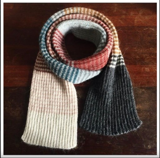 Pixen.DK Roulade - your favourite striped scarf