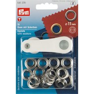 Prym eyelets with washers