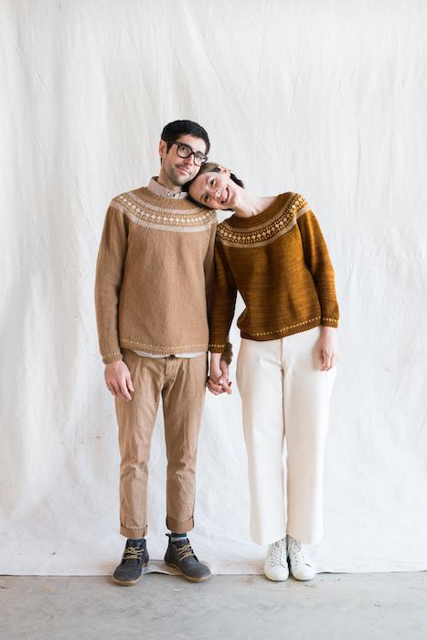 Making No 10 INTRICATE Whitlowgrass sweater