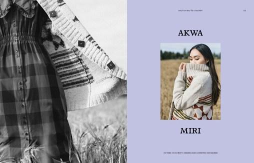 Laine Magazine - Issue 10 Page Layout Akwa