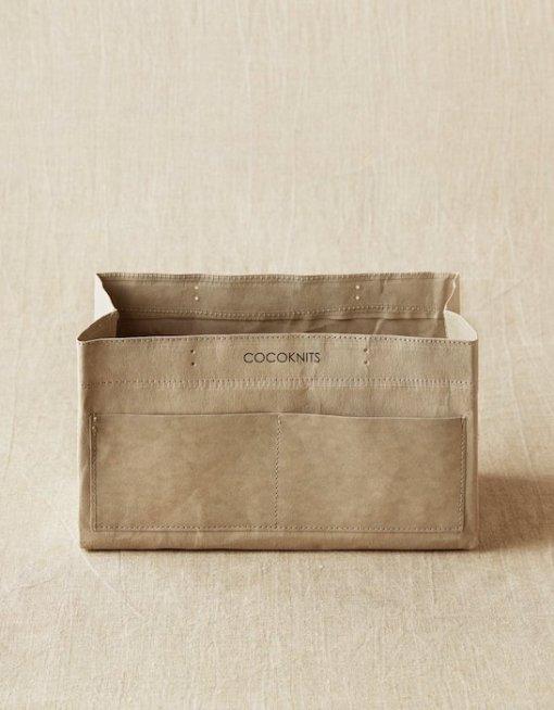 Cocoknits Craft kaddy grey