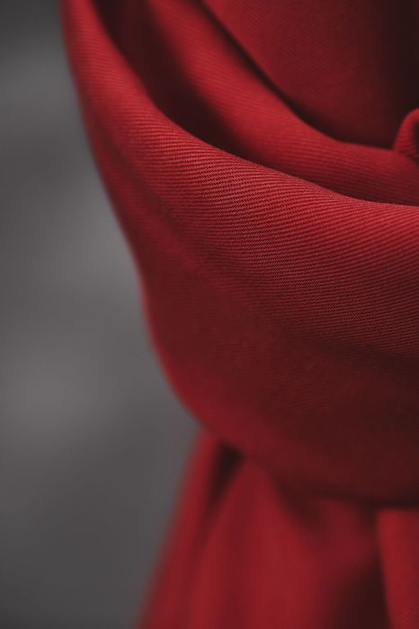 Meet Milk Smooth Drape Twill- Berry 2