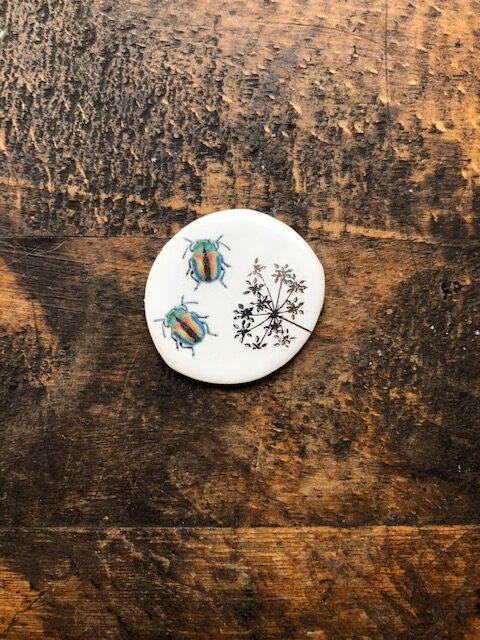 Caroline Barnes Ceramics Needle Keepers