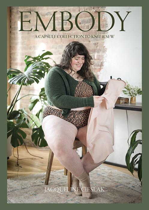 Cover Embody - Jacqueline Cieslak by Pom Pom Press