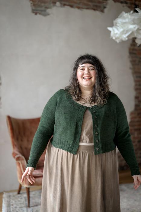 Embody - Jacqueline Cieslak by Pom Pom Press Deren Cardigan