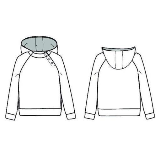 Ikatee Sewing pattern Charlie Hoodie