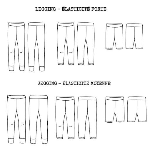 Views Seattle Leggings/Jeggings - Ikatee Paper Sewing Pattern