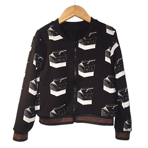 Sample Jules Bomber Jacket/Vest - Ikatee Paper Sewing Pattern
