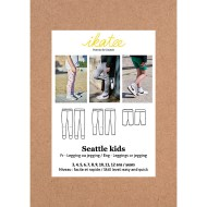 Seattle Leggings/Jeggings - Ikatee Paper Sewing Pattern Front cover