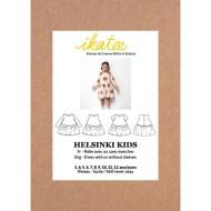 Cover front Helsinki Dress - Ikatee Paper Sewing Pattern