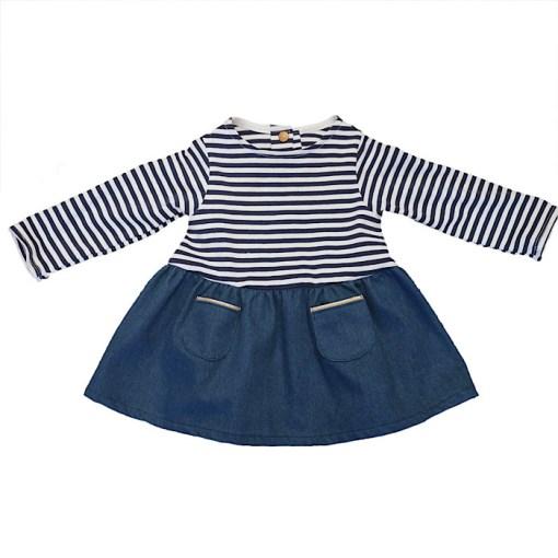Sample Helsinki Dress - Ikatee Paper Sewing Pattern