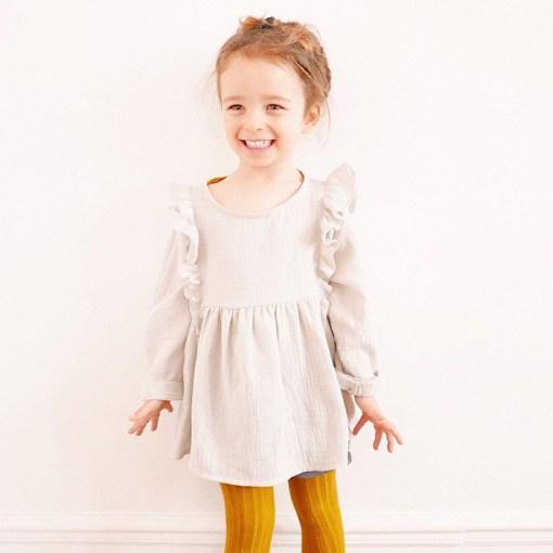Modeling Stella Blouse & Dress - Ikatee Paper Sewing Pattern