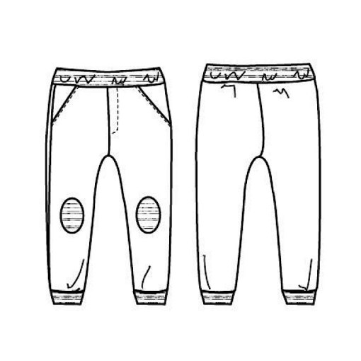 Views Jim Jogpants - Ikatee Paper Sewing Pattern