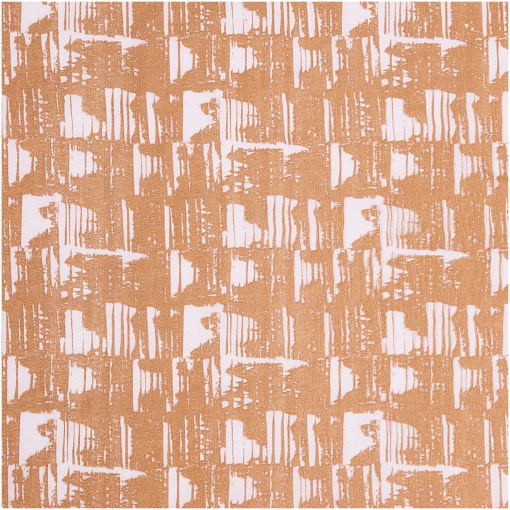 Rico Design Nature Matters Printed Cotton Brown and Lilac
