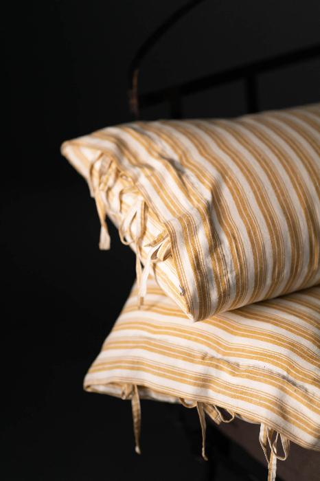 Merchant & Mills Indian cotton vintage yellow stripes